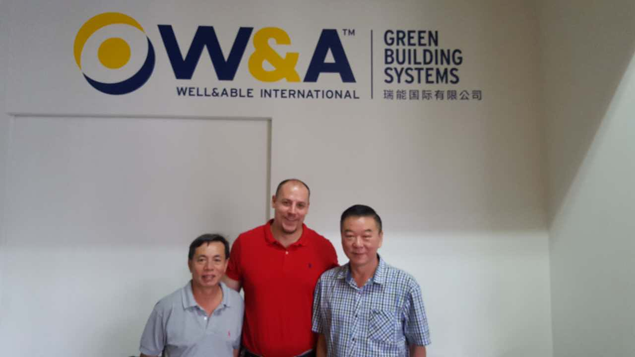 Customer from Philippines paid a visit to W&A office in Singapore.