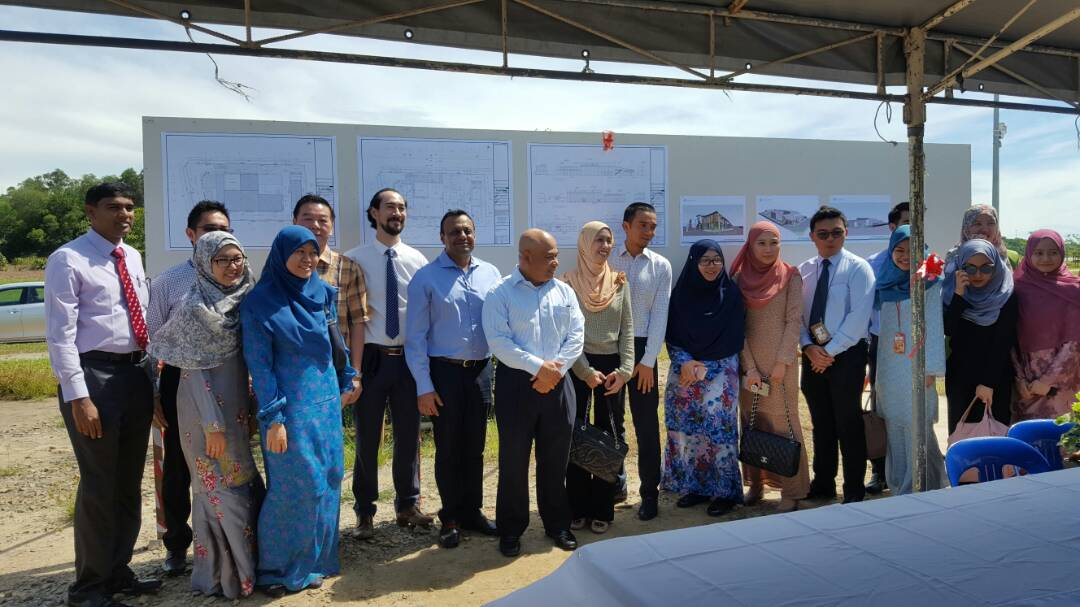 Brunei oolygel ground breaking ceremony for W&A new project.